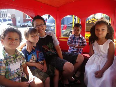 July 2014 Train Rides