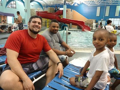 June 2014 Family Splash Pool
