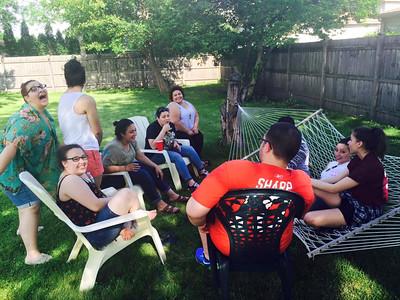 June 2015 Abbeys Graduation Party
