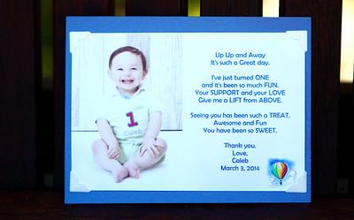 Caleb Barney's First Birthday