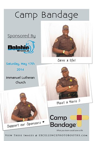Camp Bandage 2014 Booth 2