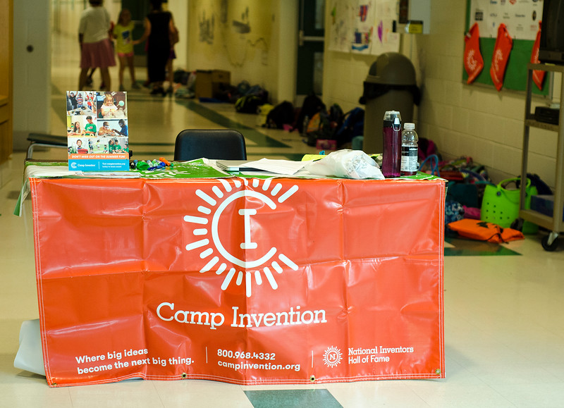 Camp Invention is being held at Mary Rowlandson Elementary School for students grades one through six this week in Lancaster.Students will learn through hands-on problem solving using science, technology, engineering and mathematics (STEM). SENTINEL & ENTERPRISE / Ashley Green