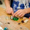 Camp Invention is being held at Mary Rowlandson Elementary School for students grades one through six this week in Lancaster. Students will learn through hands-on problem solving using science, technology, engineering and mathematics (STEM). SENTINEL & ENTERPRISE / Ashley Green