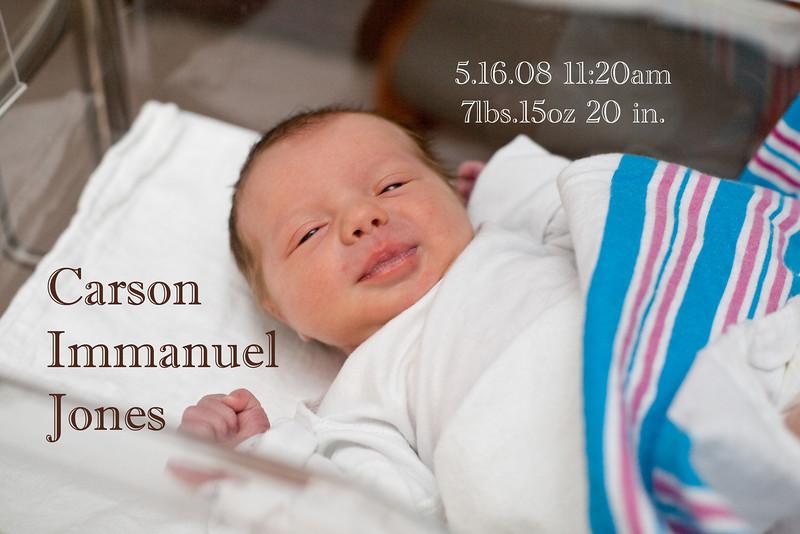 Carson Jones Newborn