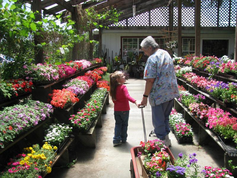 Helpin' with Grandma