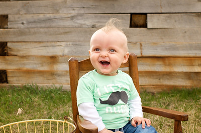 """This lil guy's shirt should be """"handsome little dude"""" instead of just """"little dude""""! Loved how his eyes lit up every time he smiled! :)"""