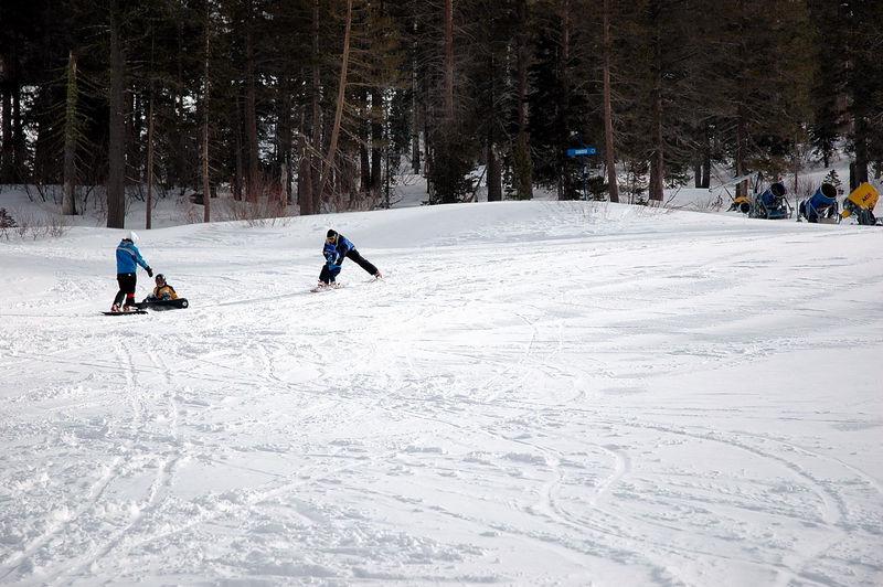 Charlie's 1st Ski Run - Sugar Bowl