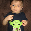 Chase finally gets to wear his Yoda shirt from Aunt Dani.  We love this shirt!  Thanks Aunt Danielle!