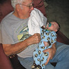 Chase with Great Grandpa Maxheimer.