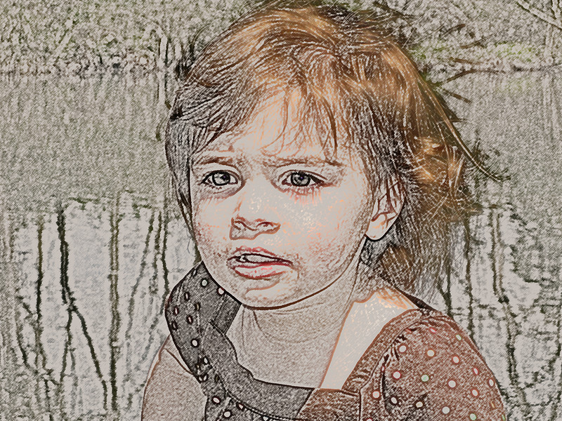 Photo Art Rendering of candid photo