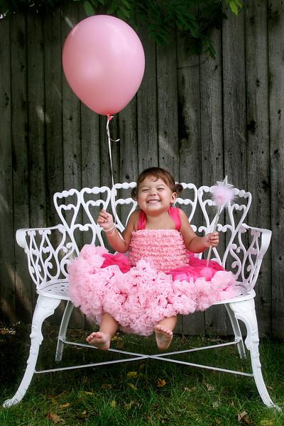 Lilly the pretty princess.