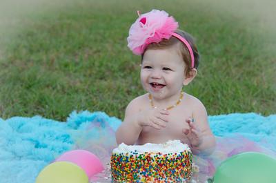 Chloe H 1st Birthday