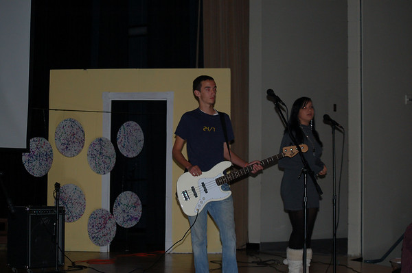 Chris and the Fellowship of Christian Athletes (FCA) 2007