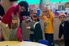 Teacher Instructs