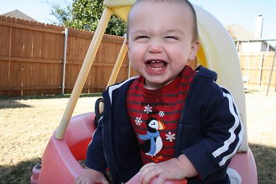 Cody Playing - December 2010