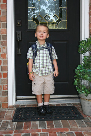Cody's First Day of School - Sep 2012