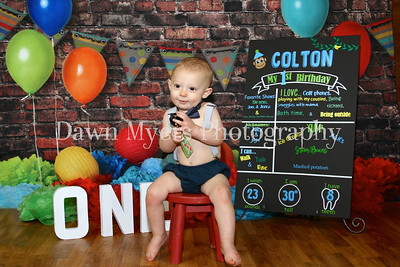 Colton~1st Birthday