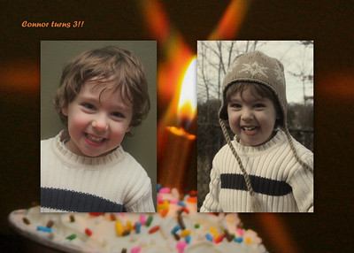 Connor turns 3