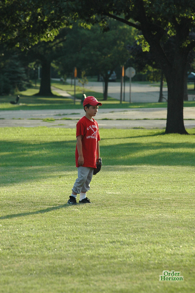 Only the lonely … can play center field