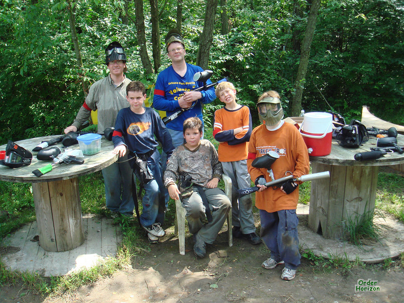 The paintball gang
