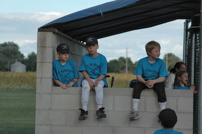 Waiting in the batting lineup
