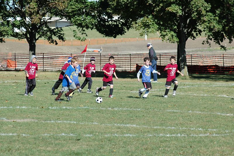 Jack and Keith push downfield