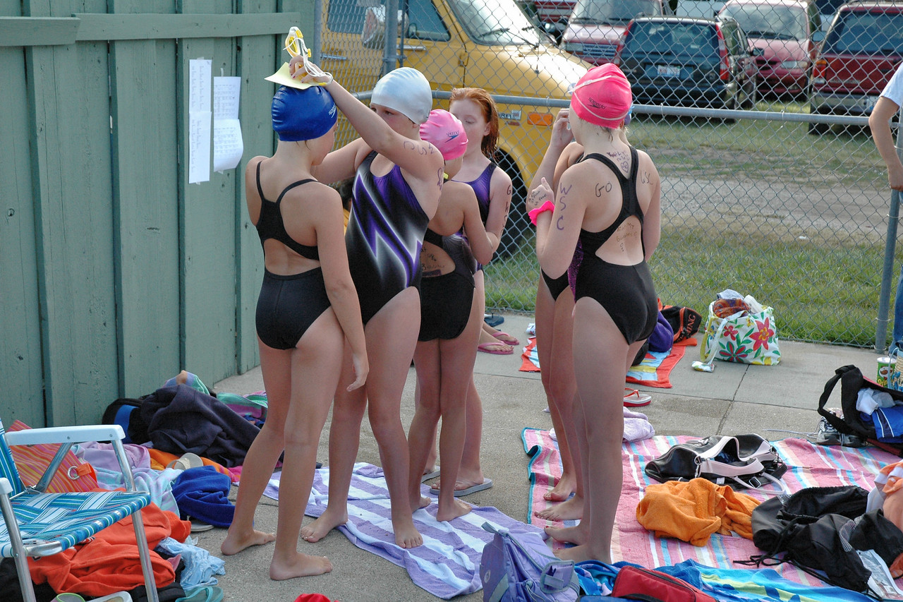 You're right! A swim card doesn't work as a swim cap!