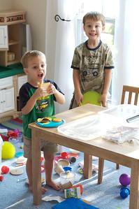Cousins at play.