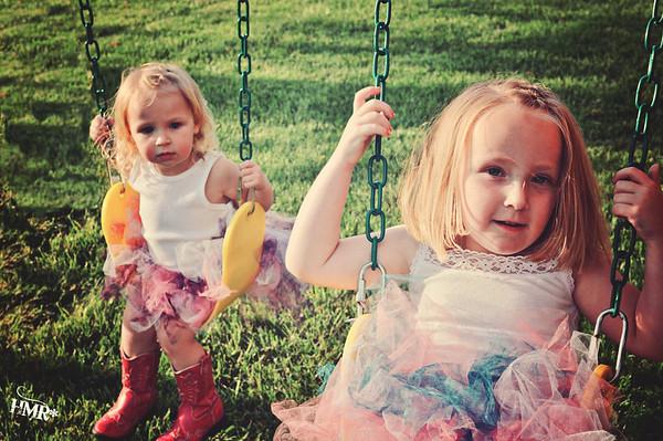 cowgirl princesses--Paige&Payton