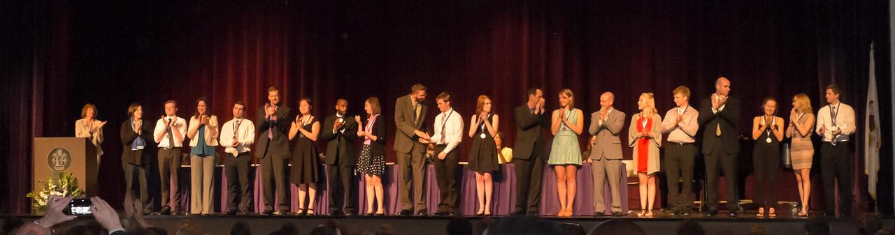 DGN Class of 2015 Awards Night