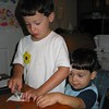 Joey-Johnny-card-making-7-13-06