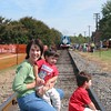 Joey-Johnny-Mom-Thomas-train-9-30-06