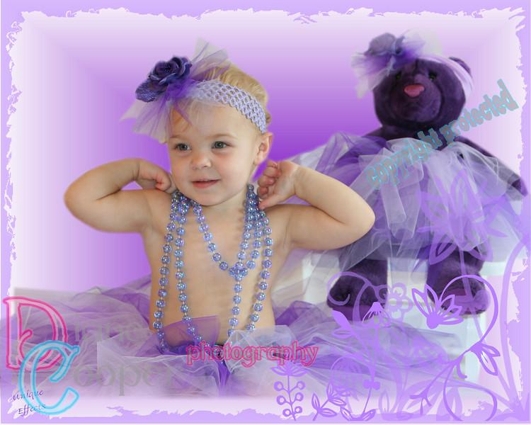850 purple sweet flowers
