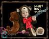 985 beary buddies blk-brown