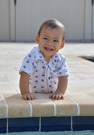 Darell - 1 Year Old Birthday Pictures