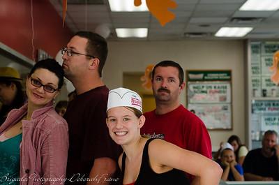 Breakfast at Krispy Kreme