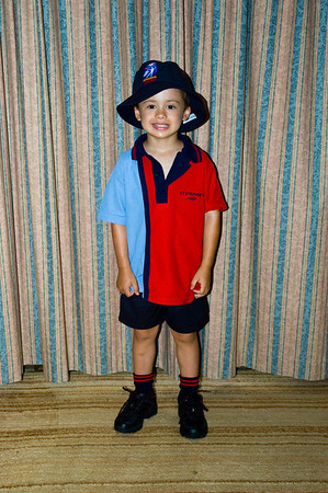 Declans 1st day at school