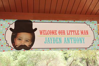 Dencye's Grandson dedication 2015