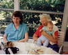 at the Tracosas house w/Grandma 1988