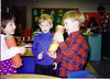 Jacqueline, Jeffrey, and Douglas at pre school in Campbell