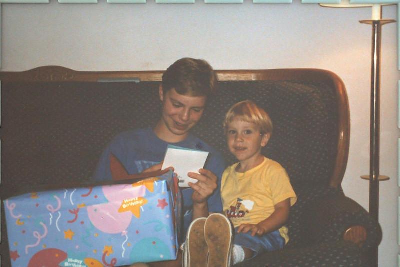 John's birthday in Campbell--1989?