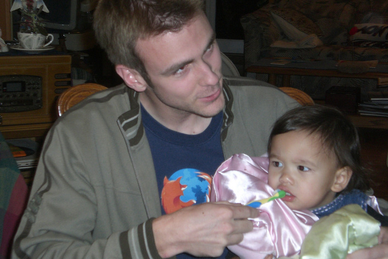 Camille wanting Uncle Douglas to brush her teeth