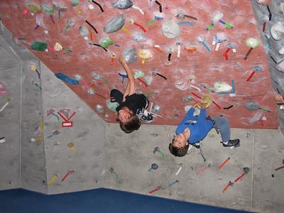 2008/05 -  Drew's Birthday  Rock Climbing