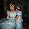 Evie meets Cinderella for the first time