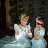Cinderlla and Evie having a conversation......about being a princess