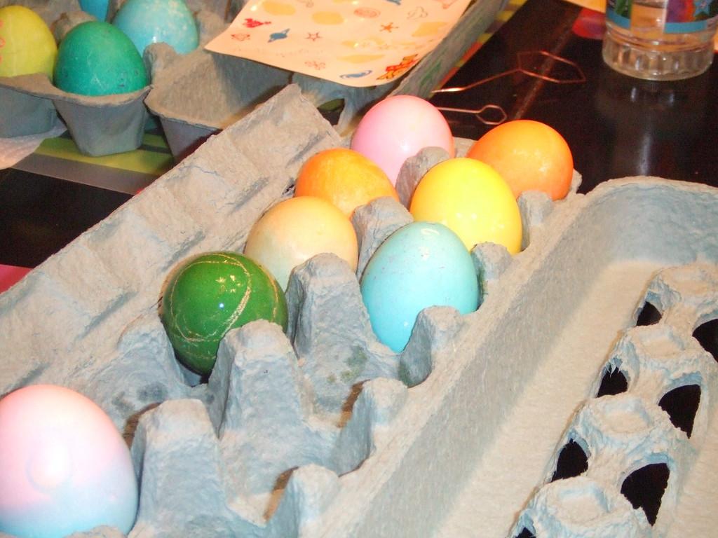 Egg city  - Easter, 12Apr09
