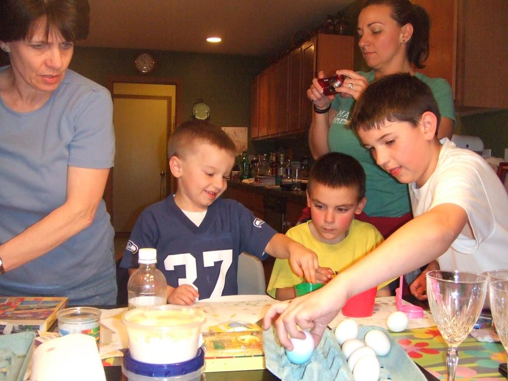 Easter Eve at Nixons - 2009