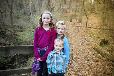 Ella, Timmy, Julian with a dash of Hennasey