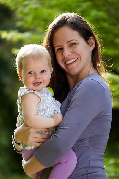 Ella at Eight months