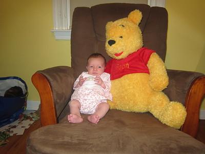 Ellie and Pooh